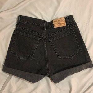 Arizona Black Jean Shorts